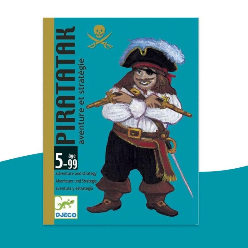 Jeu de Cartes Piratatak Djeco