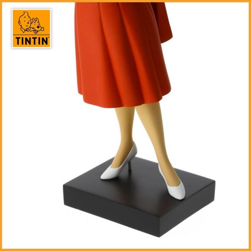 Statuette Castafiore - Galerie des personnages - Figurine Résine Tintin - zoom sur les pieds