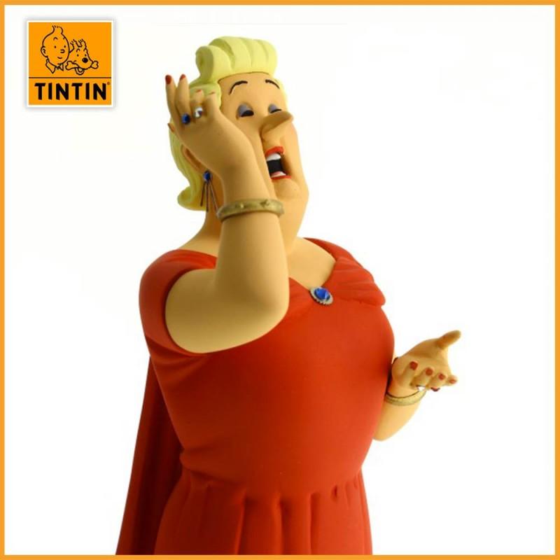 Statuette Castafiore - Galerie des personnages - Figurine Résine Tintin - suite