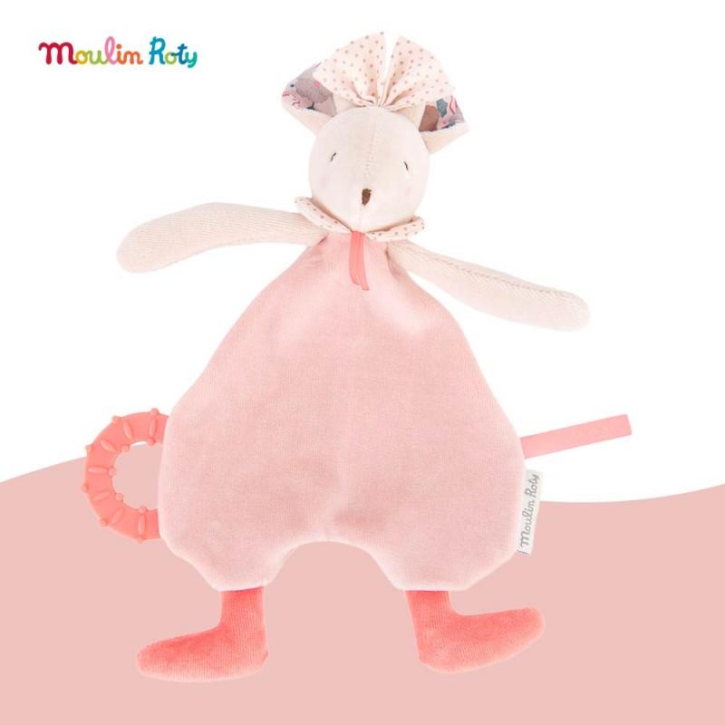 Doudou souris Mimi Il était une Fois Moulin Roty 664019