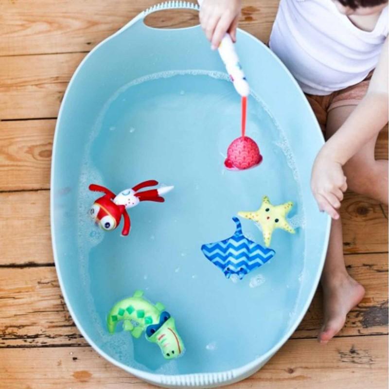 Jeu pour le bain - Jeu de pêche pour les bébés (dès 12 mois)