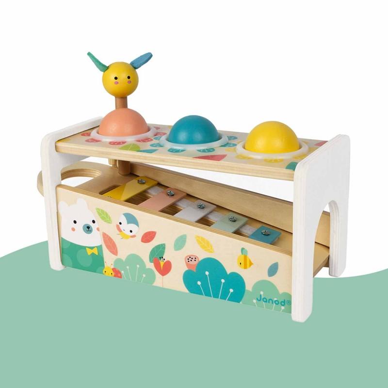 Xylophone en bois pour les petits dès 1 an