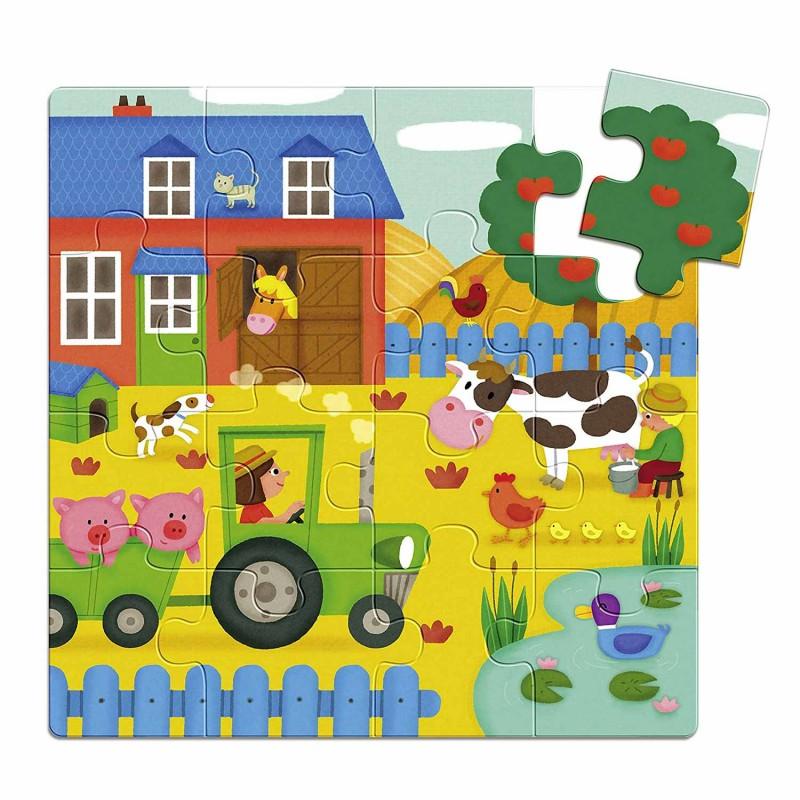 Puzzle sur le thème de la ferme