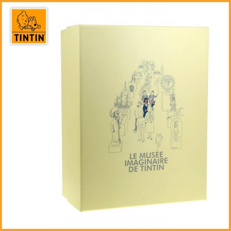 Statuette Tournesol & sa pendule - Musée imaginaire - Figurine Résine 46010 - packaging
