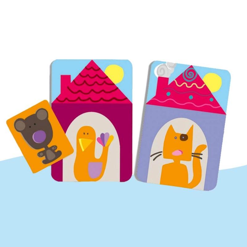 Un jeu de déduction pour les enfants de 4 à 7 ans