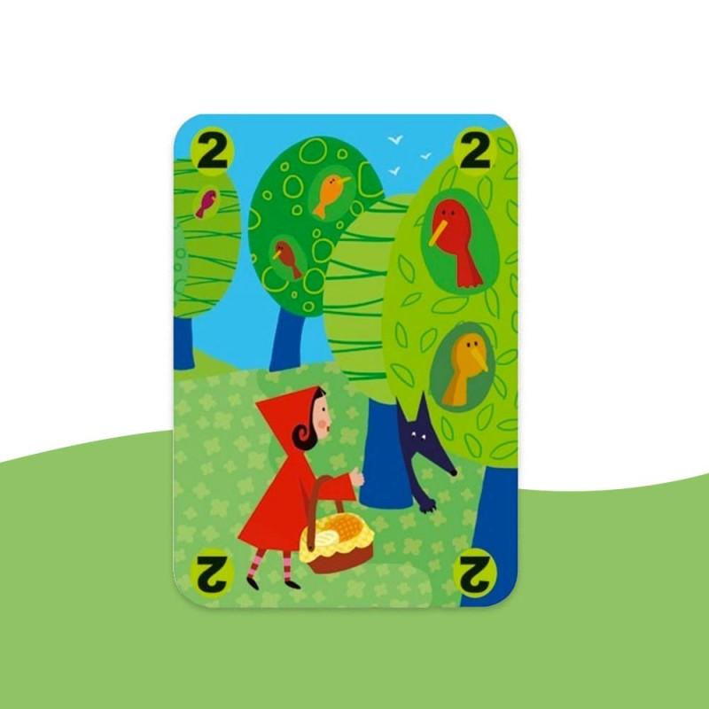 Jeu de cartes Djeco avec de belles illustrations