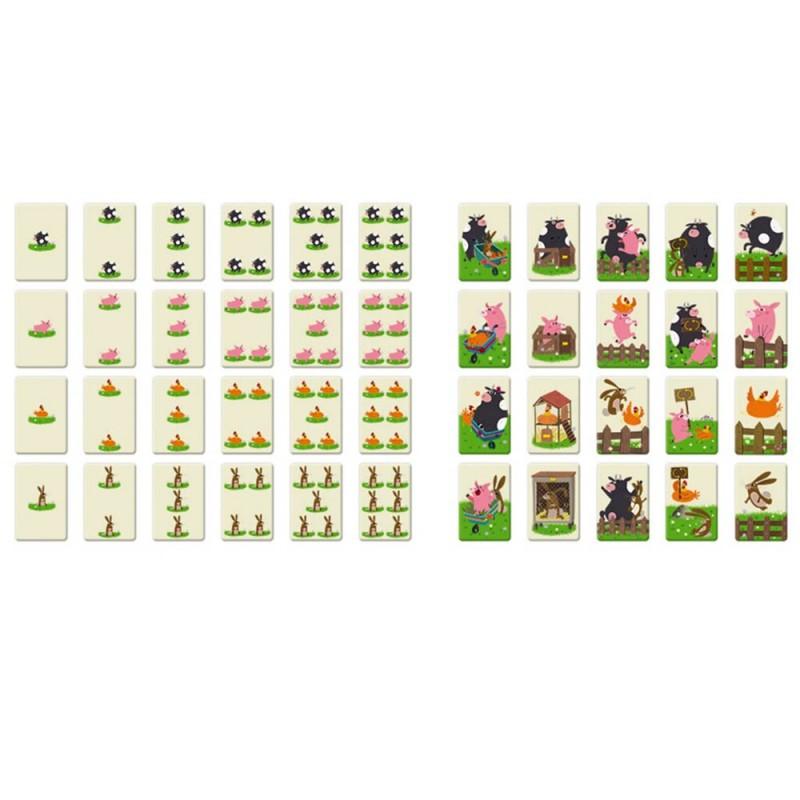 Les 68 cartes du jeu de société pour les enfants