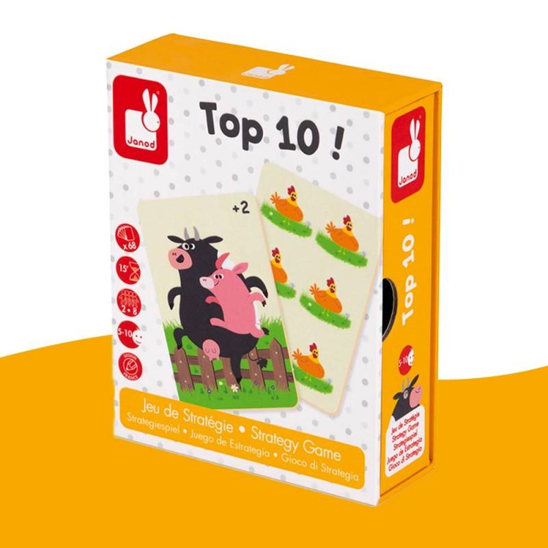 Jeu de stratégie Top 10! Janod