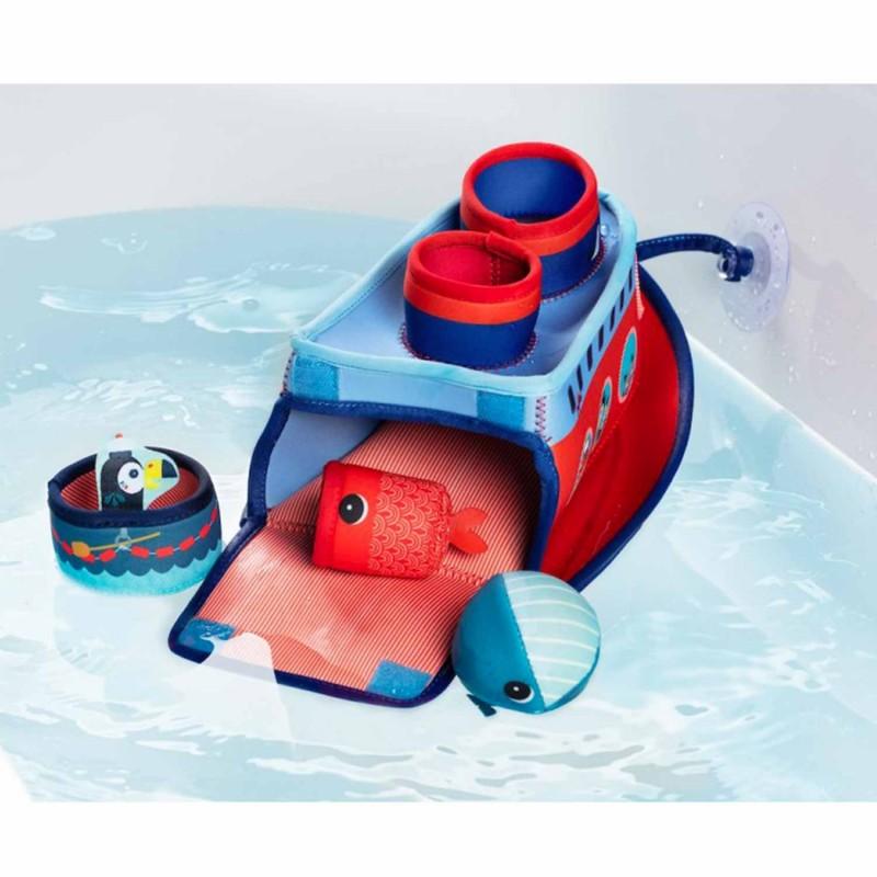 Jouet pour le bain bateau