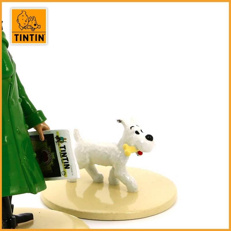 """Le Professeur Tournesol lit Tintin - Collection """"Lisez Tintin"""""""