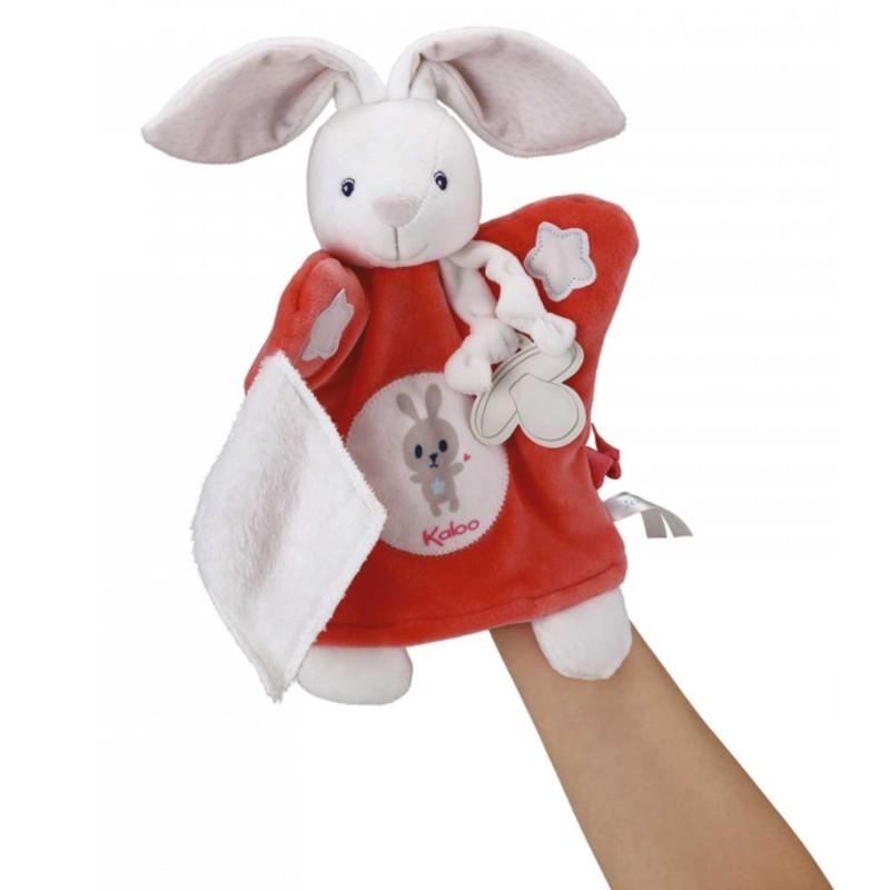 Un lapin marionnette pour raconter renforcer la complicité parent-enfant