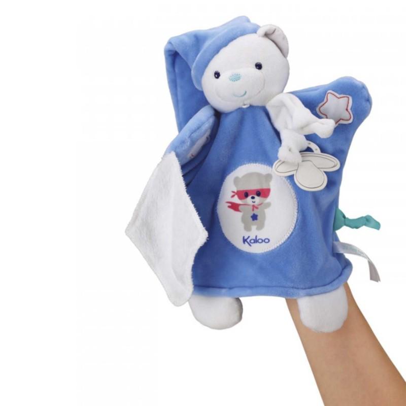 Un ourson marionnette pour raconter renforcer la complicité parent-enfant