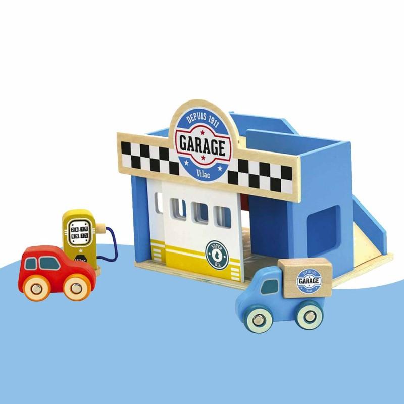 Le petit garage Vilacity Vilac