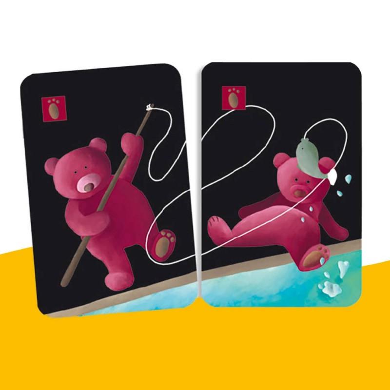 Trouvez les paires avec ce jeu de cartes Mistigri de Djeco