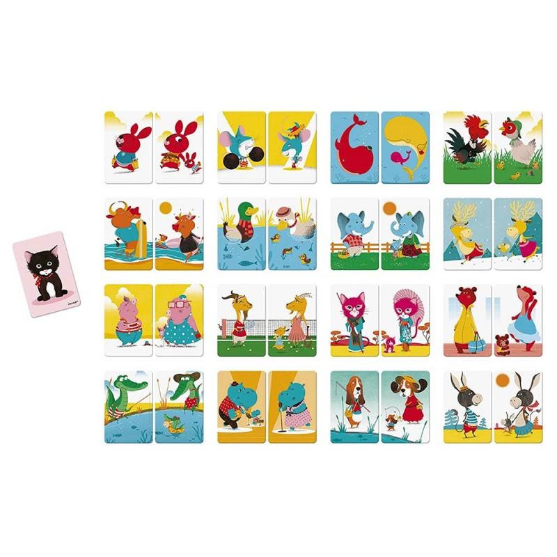 Jeux de cartes et d'association pour les enfants (dès 4 ans)