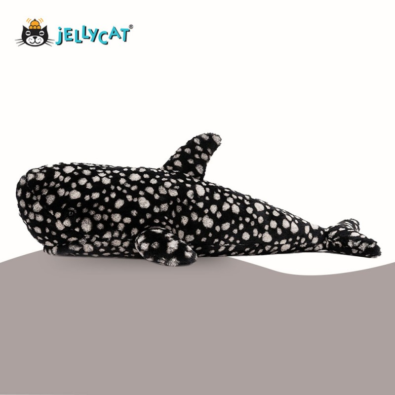 Peebles Le requin baleine de Jellycat - vue de côté vue de côté