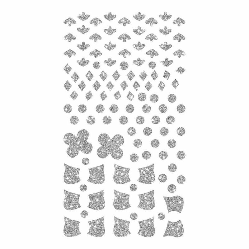 stickers pailletés/métallisés