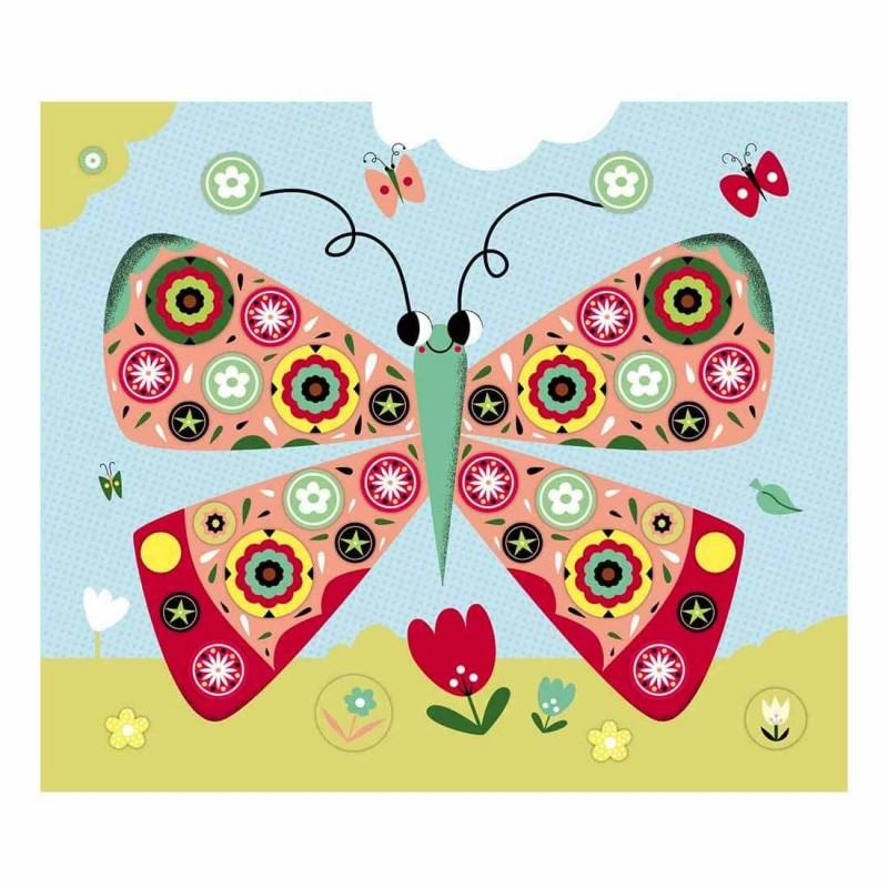 Papillons à personnaliser avec des stickers