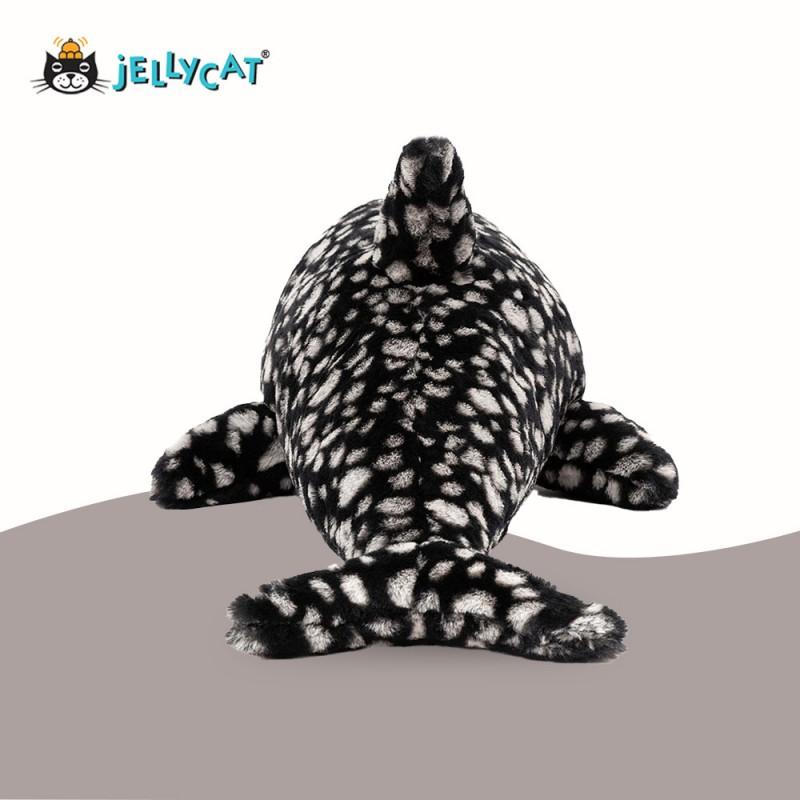 Peebles Le requin baleine de Jellycat - vue de dos