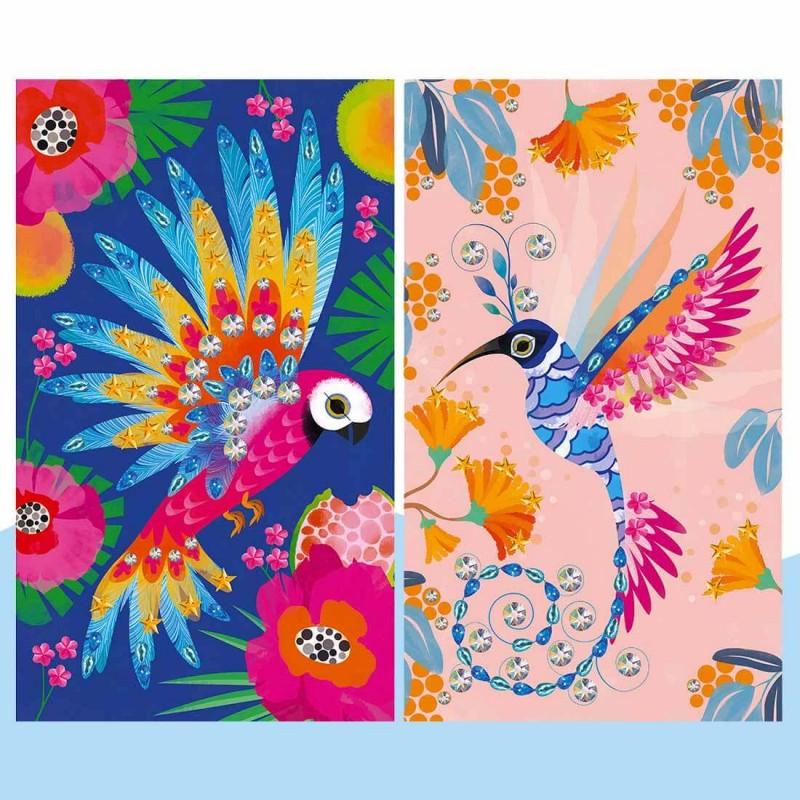 Les tableaux bel oiseau à décorer de Janod
