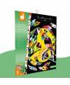 Kit créatif Scratch Art Animaux du monde Janod