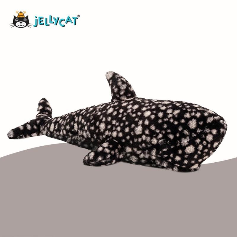 Peebles Le requin baleine de Jellycat - vue de côté