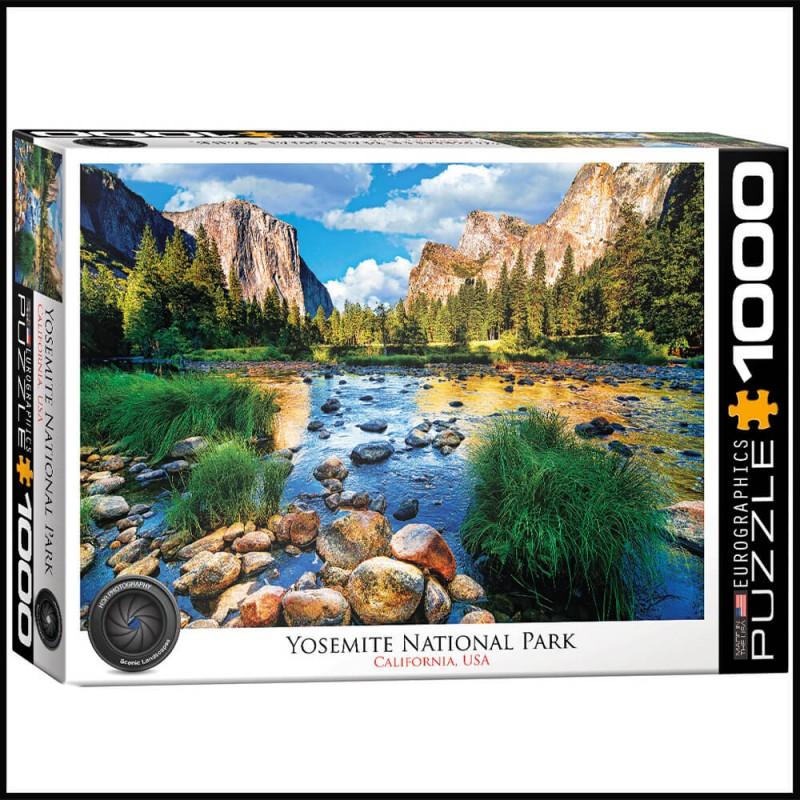Puzzle Yosemite Parc National USA - 1000 pièces - Eurographics