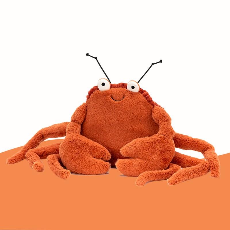 Peluche Crispin Le Crabe Jellycat - Crabe en peluche Jellycat