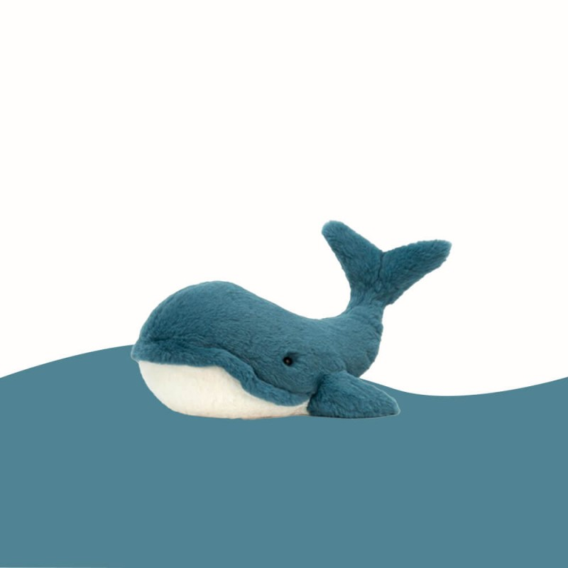 Petite Peluche Baleine Wally (10cm) Jellycat