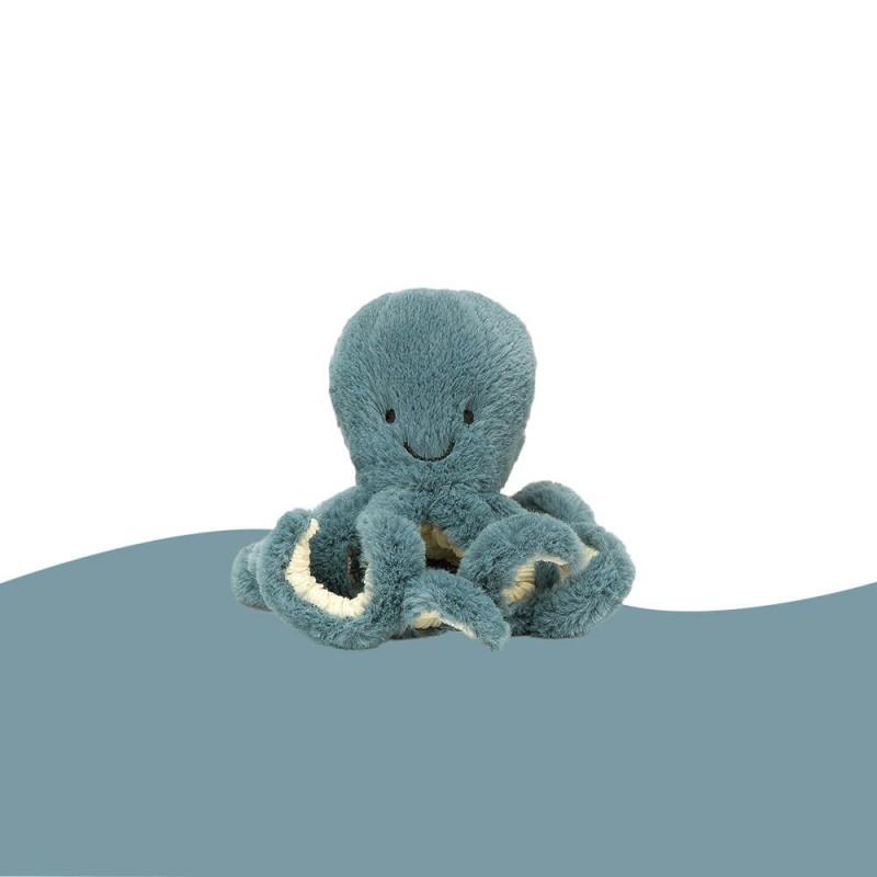 Petite Peluche Poulpe Storm Jellycat (14 cm) Storm Octopus Tiny Jellycat