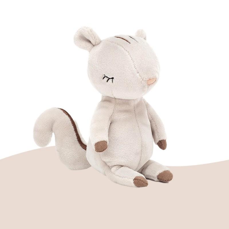 Peluche Minikin Jellycat Ecureuil Squirell 15 cm