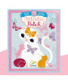 Artistic Patch Velours Petits animaux Djeco