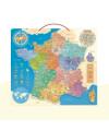 Puzzle bois magnétique carte de France Vilac