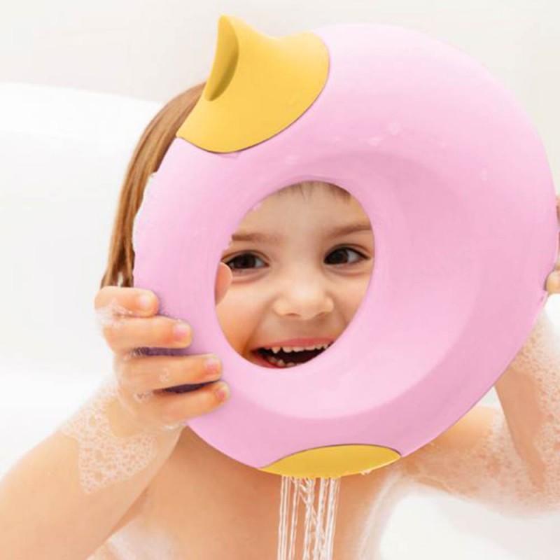 Arrosoir Cana Rose Quut - Petit arrosoir ludique et design pour les enfants dans le bain - Mise en scène