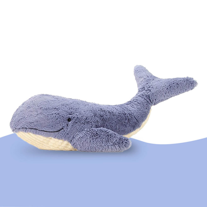 Baleine en peluche pour les enfants (Wilbur)