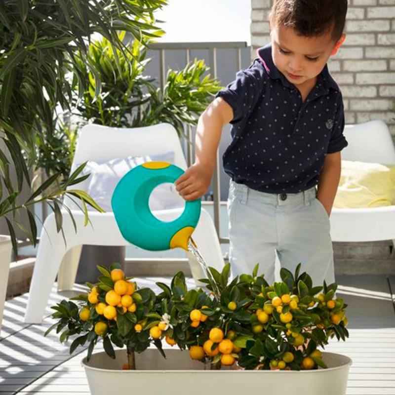 Petit Arrosoir Cana Vert Lagon Quut jardin enfant arrose les plantes