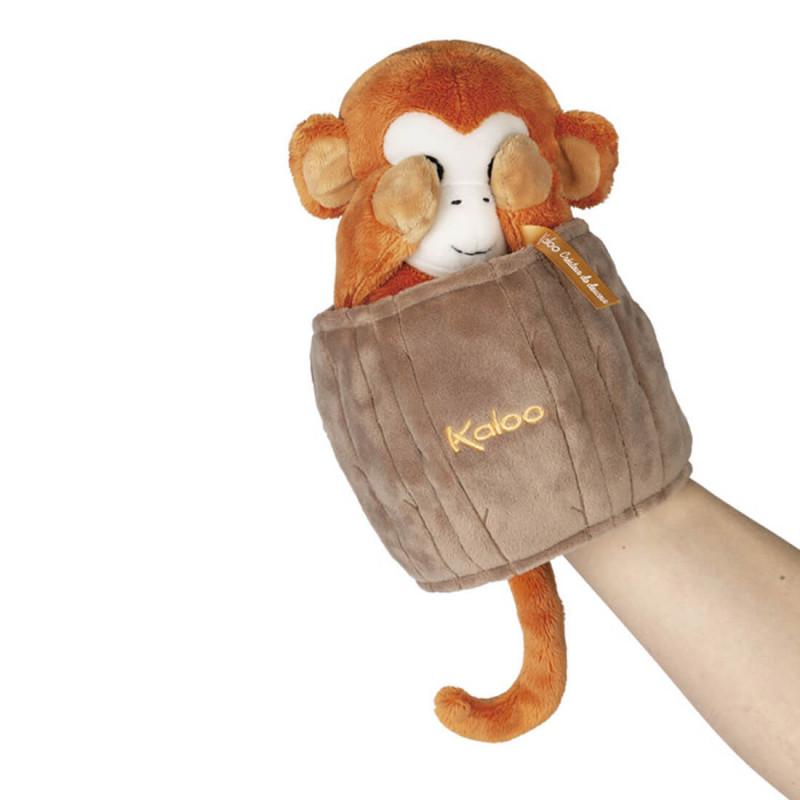 Jack le singe marionnette originale Kaloo