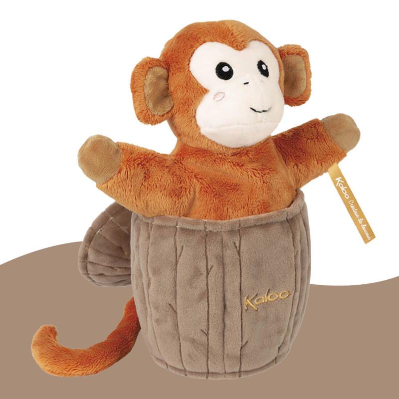 Marionnette cache-cache Jack le singe Kaloo