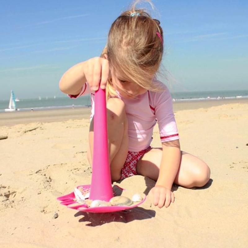 Quut Triplet Vert Lagon - Jouet de plage pour les enfants