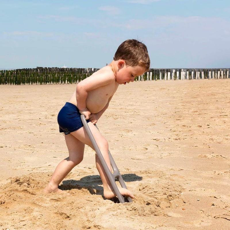 Scoppi Gris Quut - Pelle Multi-usages plage pour les enfants