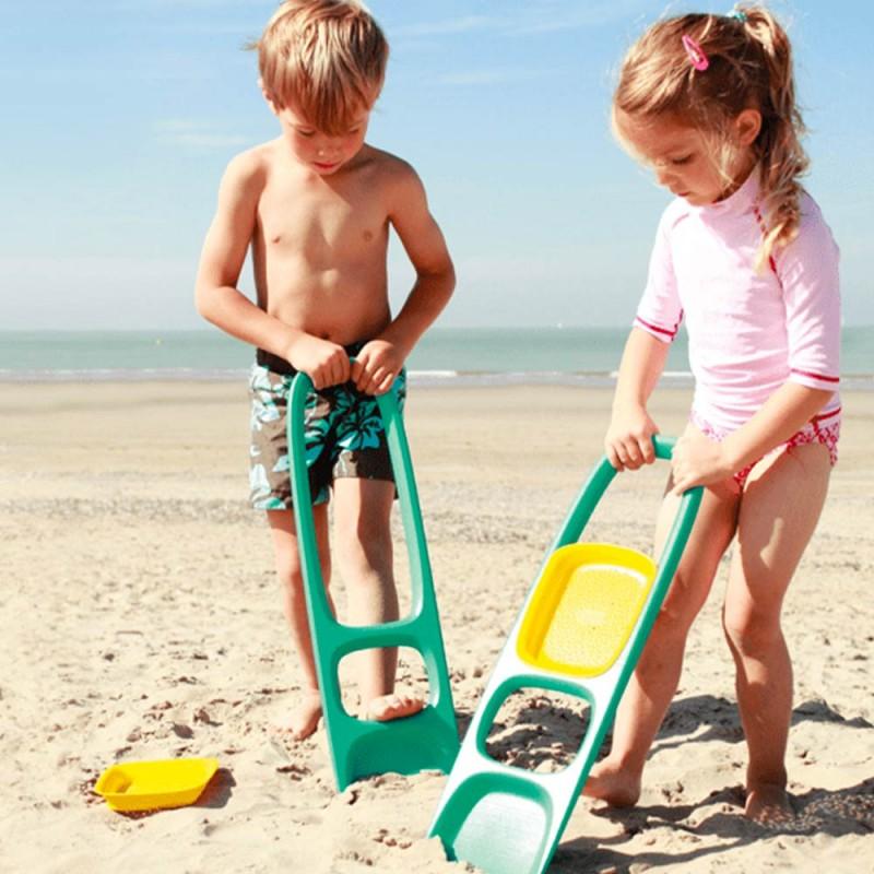 Pelle plage Scoppi Vert Lagon de Quut pour les enfants