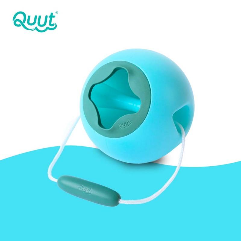 Quut Seau Mini Ballo Bleu - Un seau de plage pensé pour les enfants