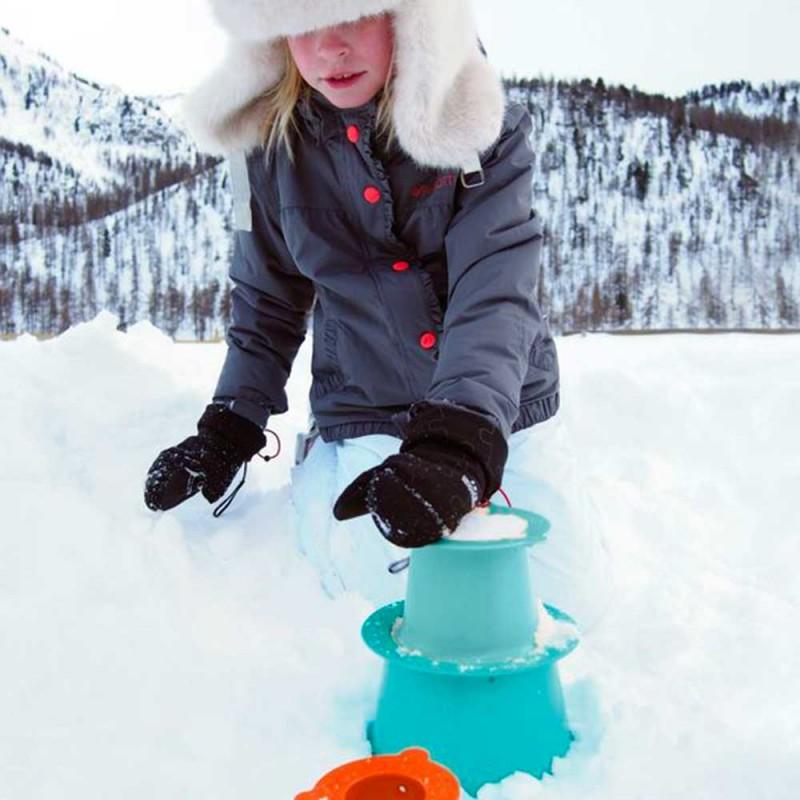 Quut Alto Pyramide - Seaux pour jouer dans la neige