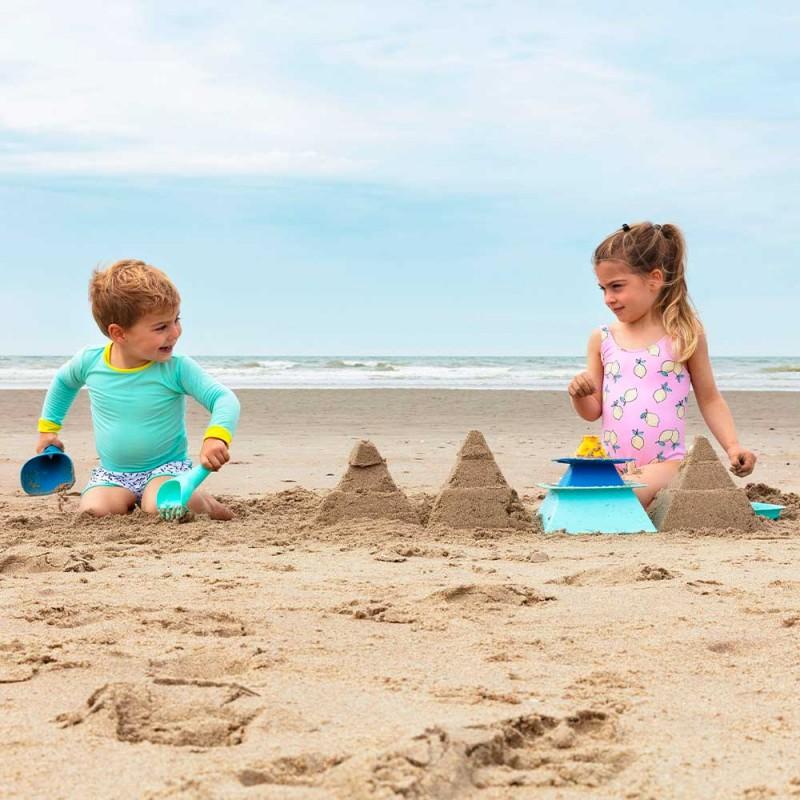 Quut Pira - Constructeur de pyramides de sable - Seaux de plage - Mise en scène enfants à la plage