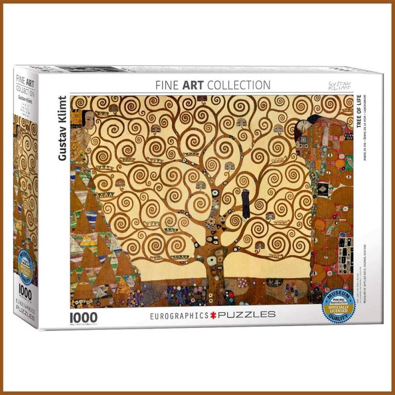 Puzzle Arbre de vie par Gustav Klimt - 1000 pièces - Eurographics - La boite