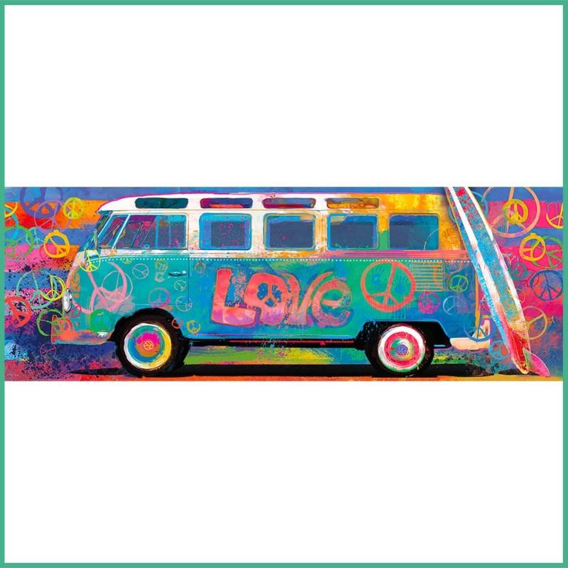 Puzzle Samba Pa'ti Love Splash - Puzzle Panoramique 1000 pièces - Eurographics