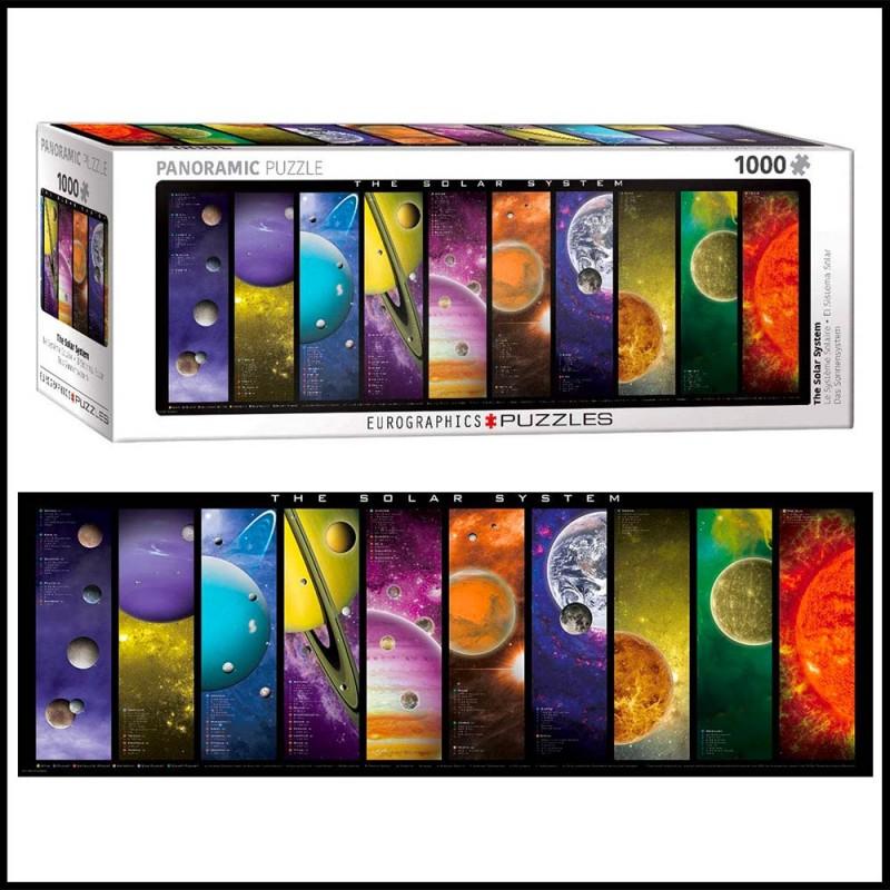 Puzzle panoramique Système Solaire - 1000 pièces - Eurographics