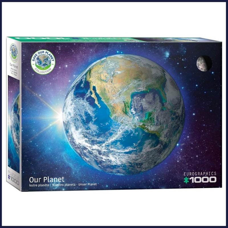 Puzzle Notre Planète 1000 pièces - Save The Planet - Eurographics