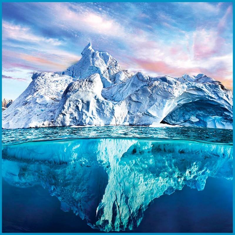 Puzzle Arctique Iceberg - 1000 pièces - Zoom puzzle - Eurographics