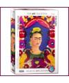 Puzzle Frida Khalo autoportrait - 1000 pièces - Eurographics
